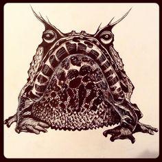 #art #arigart #illustration #instaartist #inkdrawing #indianink #instaink #ink #poster #дикий #painting #picture #graphicprint #graphicart #graphic #blackandwhite #artsy #artist #drawing #sketch #графика #blackwhite #иллюстрация #hornedfrog #чернобелое #frog #рисунок #лягушка #искусство