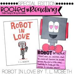A great book for Valentine's Day:  Robot in Love