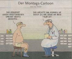 Montags-Cartoon von Uli Stein…