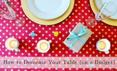 Easy Valetine's Day party ideas!
