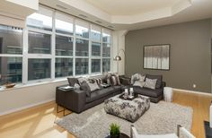 Double Sided Gas Fireplace, Eaton Centre, Toronto Photos, Multi Family Homes, Rooftop Pool, Cork Flooring, Guest Suite, Window Wall, Workout Rooms