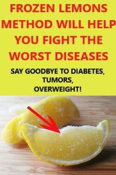 As you well know, lemons are an essential part of every detox method, regardless of whether you are preparing lemonade, lemon water or lemon tea. We are giving you a frozen lemons method that will help you fight the worst diseases! Frozen lemons | Benefits of lemon | Lemon health benefits | natural add remedies | natural relief | natural beauty remedies | add natural remedies | organic medicine | natural home remedies | natural medicine recipes | lemoncello drinks #frozenlemons #benefi..