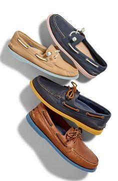 Whether it's summertime or the school year, It's always boat shoe season.
