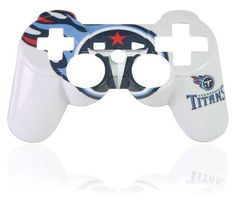 Official NFL Tennessee Titans Controller Faceplate by Mad Catz - coupon handbags Ps3, Playstation, 3 Network, 32 Nfl Teams, Latest Video Games, Hoodie Creepypasta, Video Game Collection, Diy Sweatshirt, Tennessee Titans
