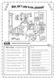 english exercises there is there are english pinterest english english exercises and. Black Bedroom Furniture Sets. Home Design Ideas