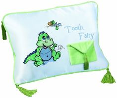 I gave this to my 2 yr. old nephew and I gave his 5 yr. old sister the girl pillow, she loved it and was thrilled when she got to put her first tooth in it.