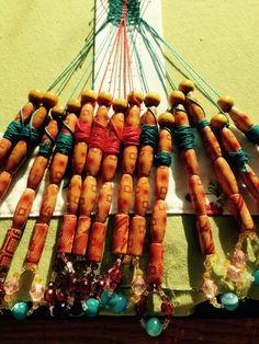 bobbin lace_herringbone stitch