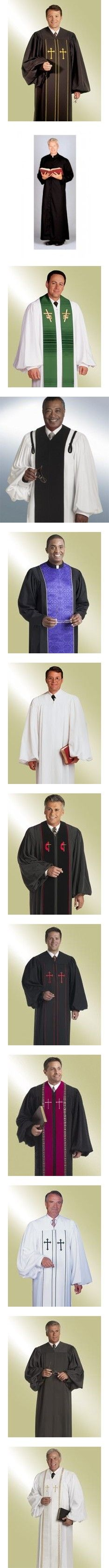 61 best Men\'s Pastor Robes images on Pinterest   Pastor, Robe and Robes