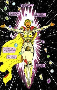 The Infinity Crusade #1, pg 24 | The Goddess