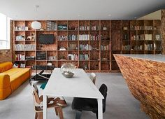 OSB Bookcase and Media Center   Apartment Therapy
