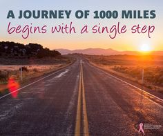 Take that first step #MotivationalMonday http://www.MyBreastCancerTreatment.org