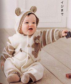 Схемы вязания комбинезонов новорожденным - Вяание для новорожденных - Последние схемы и модели для крючка и спиц - Вязание для души