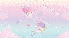 Little Twin Stars Wallpaper 2019 六月桌布 日本草莓新聞 Stars Wallpaper, Sanrio Wallpaper, New Wallpaper, Pastel Room, Star Cloud, Sanrio Characters, Little Twin Stars, My Melody, Hello Kitty