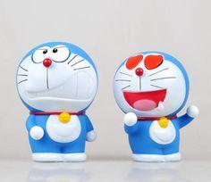 2015 Doraemon Action-Figuren 100th Anniversary japanischen Anime Figuren 10 cm Hot Toys 2 Stücke pvc Cartoon Abbildung Kid Geschenke(China (Mainland))