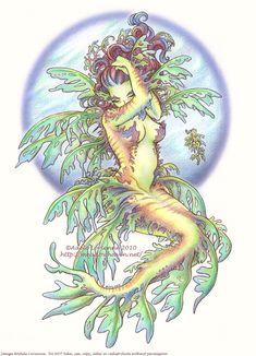 Gasp!  Sea dragon mermaid!  Oooooooooooooooh....