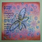 Lavinia Stamps: Zen Butterfly