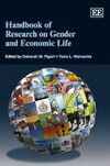 NOW IN PAPERBACK - Handbook of Research on Gender and Economic Life - edited by Deborah M. Figart and Tonia L. Warnecke - April 2015