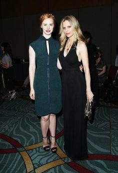 Deborah Ann Woll & Kristin Bauer van Straten at Comic-Con 2012 (True Blood)