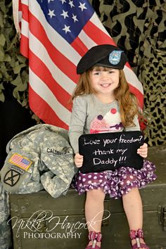 Such a sweet photo. Many people dont take enough time to sit down and think of all the military families that sacrifice for your freedom allowing you to do the things you do on a daily basis. It's not a life for everyone, but its probably more rewarding than any other.