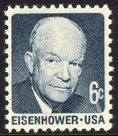 Eisenhower US postage stamp Rare Stamps, Old Stamps, Vintage Stamps, Commemorative Stamps, Postage Stamp Art, Stamp Collecting, My Stamp, Poster, American Presidents