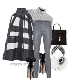 """""""Wintery Mix"""" by bridgeparker on Polyvore featuring Dolce&Gabbana, Yves Saint Laurent, Marc by Marc Jacobs, Bottega Veneta and Arma"""