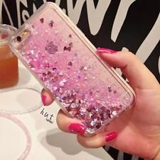 46b8c7906e48 Luxury Glitter Hearts Liquid Back Phone Case Cover for Apple iphone in  Mobile Phones   Communication