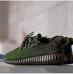Army Green YZY 350