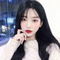 Style Ulzzang, Mode Ulzzang, Ulzzang Korean Girl, Asian Fashion, Girl Fashion, Cute Girls, Cool Girl, Ariana Grande Hair, Pretty Asian Girl