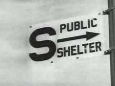 """""""Duck and Cover"""" 1950s film on what to do in case of an atomic bomb"""