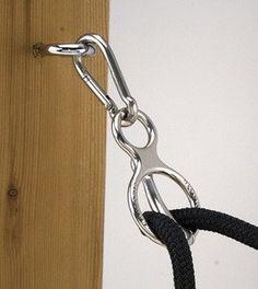 Amazon.com: Toklat Blocker Tie Ring Trailer Cross Ties Horse Safety Tie: Pet Supplies