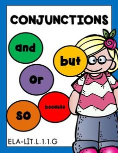 CONJUNCTIONS! CONJUNCTIONS! CONJUNCTIONS! Grade 1 Worksheets PRINT & GO 33 Pages!AND, BUT, OR, SO & BECAUSE are covered in this unit.Common Core Aligned to CCSS.ELA-LITERACY.L.1.1.GUse frequently occurring conjunctions (e.g., and, but, or, so, because).***Please see the animated GIF to know what you'll be purchasing***CONTENTS: (Differentiated levels included)11 postersConjunction true or false,Spin and write.Putting sentences together