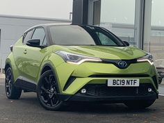 Buy a used TOYOTA C-HR 1.8 Hybrid Lime Edition 5dr CVT #toyota #c-hr #carsforsale Toyota C Hr, Used Toyota, Toyota Hybrid, Driving Test, Cars For Sale, Lime, Vehicles, Limes, Cars For Sell