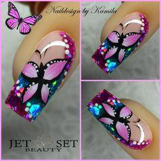 The Best Nail Art Designs – Your Beautiful Nails Pedicure Designs, Cute Nail Designs, Acrylic Nail Designs, Fingernail Designs, Fabulous Nails, Gorgeous Nails, Pretty Nails, Crazy Nails, Fancy Nails