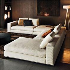 Minotti sectional -- looks super comfy Vloerlamp, Arba voor Belux bij Eikelenboom