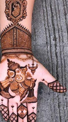 Very Simple Mehndi Designs, Indian Henna Designs, Full Hand Mehndi Designs, Stylish Mehndi Designs, Henna Art Designs, Mehndi Designs For Girls, Mehndi Designs For Beginners, Mehndi Design Photos, Rajasthani Mehndi Designs