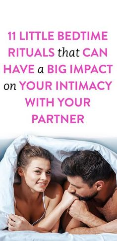 "For better or for worse, what you do with your partner before bed can have a profound impact on your relationship — especially when it comes to your levels of intimacy. As psychologist Dr. Nikki Martinez says, ""It might be the only time all day… Happy Relationships, Marriage Relationship, Marriage Advice, Better Relationship, Relationship Building, Happy Marriage, Romance, Wellness Tips, Better Life"