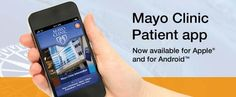 Looking to make an appointment at Mayo Clinic, keep Up-to-date with Mayo Clinic news, publications, and videos.  Download the Mayo Clinic Patient app – now available for Android