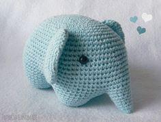 Proyecto Handmade: Elefante amigurumi (tutorial paso a paso)