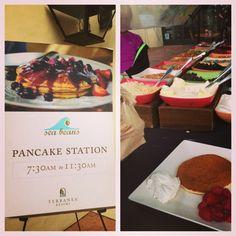 Pancake station @Rosemary D Resort #terranea