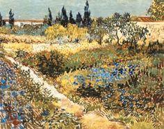 """lonequixote: Vincent van Gogh Garden with. - lonequixote: """" Vincent van Gogh Garden with Flowers """" Art Van, Van Gogh Art, Vincent Van Gogh, Van Gogh Pinturas, Van Gogh Paintings, Flower Paintings, Kunst Poster, Garden Painting, Dutch Painters"""