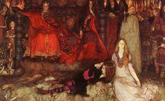 "Edwin Abbey ""Hamlet and Ophelia"""