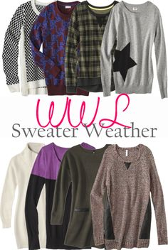 A Lacey Perspective: Wednesday Wish List - Sweater Weather