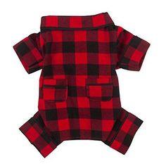 Flannel Dog Pajamas
