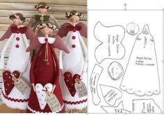 icu ~ 63 Easy DIY Angel Christmas Ornaments Crafts Ideas Christmas Sewing, Felt Christmas, Christmas Ornament Crafts, Christmas Makes, Angel Ornam… Christmas Ornament Crafts, Christmas Sewing, Felt Ornaments, Christmas Projects, Holiday Crafts, Christmas Decorations, Angel Ornaments, Christmas Makes, Felt Christmas