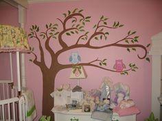 Trees in babys room :-)