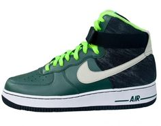 Nike Air Force 1 High: Vintage Green/Mortar/Black