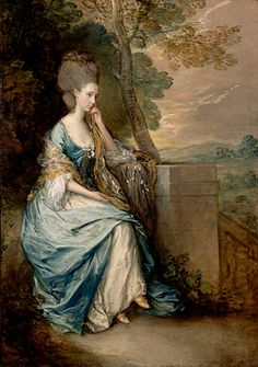 Thomas Gainsborough: 'Portrait of Ana, Countess of Chesterfield'