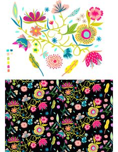 Eszter Chen: Patterns & Illustration - design work life