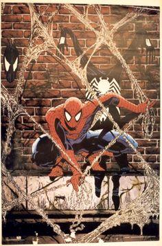 venom vs spiderman todd mcfarlane - Google Search