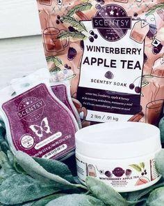 Scentsy, Apple Tea, Wax Warmers, Cozies, Winter, Salts, Himalayan, Honey, Sugar